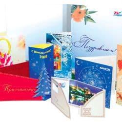 Изготовление открыток, конвертов, этикеток
