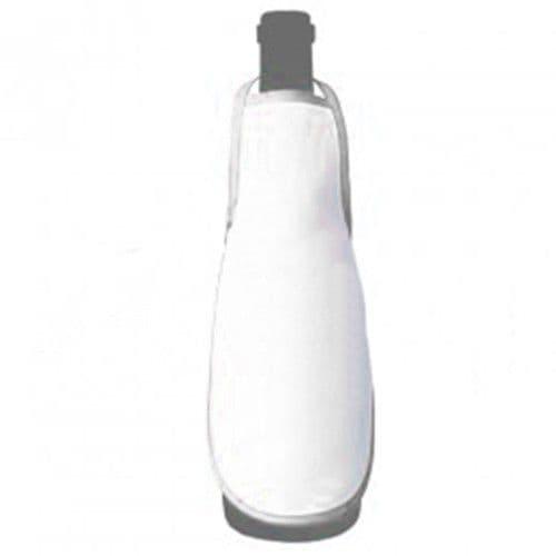 Фартук на бутылку БЕЛЫЙ кант