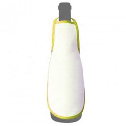 Фартук на бутылку ЖЕЛТЫЙ кант