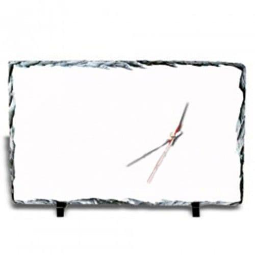 Фотокамень-часы прямоугольные 40*25 см