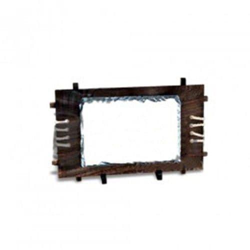 Фотокамень SH38 Прямоугольник на деревянной основе