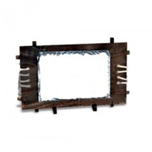 Фотокамень SH39 Прямоугольник на деревянной основе