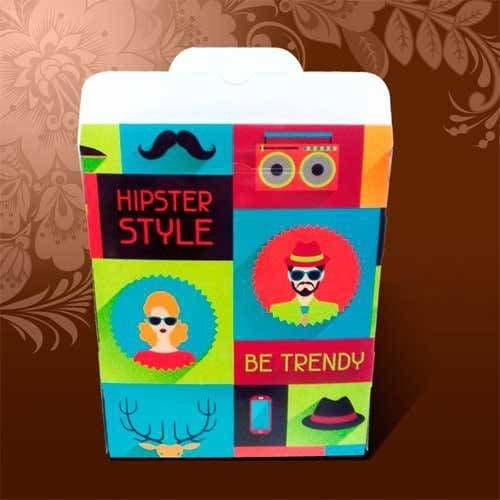 """Подарочная коробка для футболки """"Be Trendy"""""""