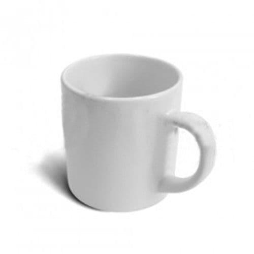 Кружка кофейная белая