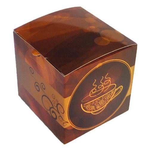 """Подарочная коробка для кружки без окна """"Кофе"""""""