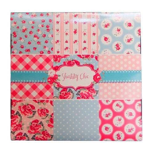 """Подарочная коробка для тарелки без окна """"Shabby Chic"""""""