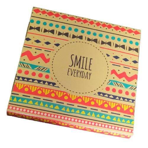 "Подарочная коробка для тарелки без окна ""Smile Everyday"""