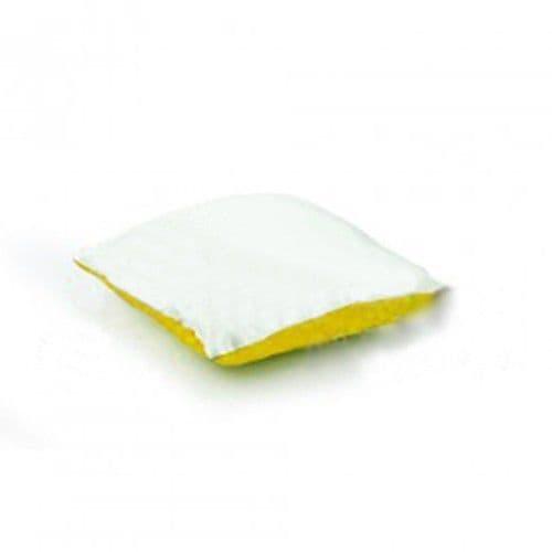 Подушка с наволочкой 25*25 см ЗОЛОТАЯ