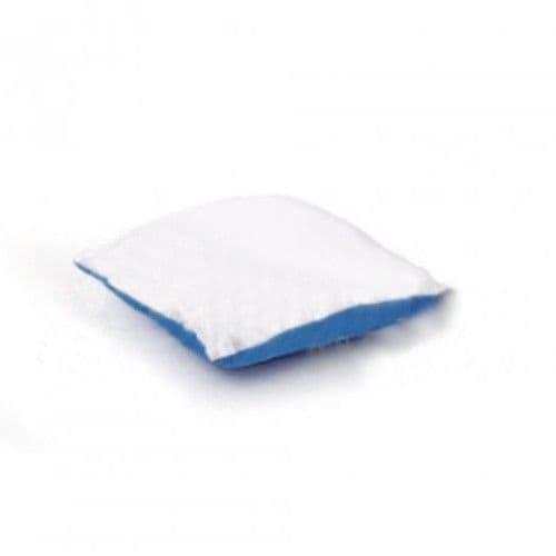 Подушка с наволочкой 25*25 см СИНЯЯ