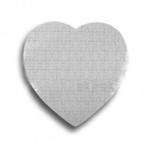 Пазл магнитный в форме сердца
