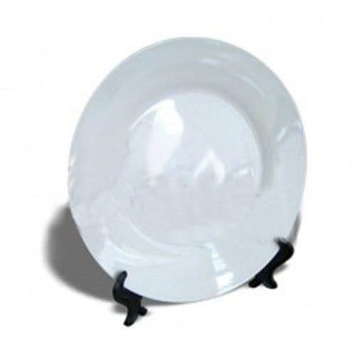 Тарелка белая d=26см