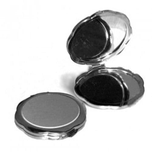 Зеркальце металлическое круглое d=72мм