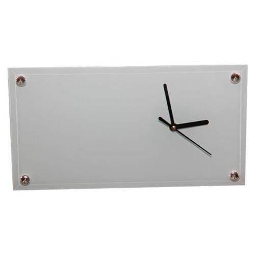 Часы-фоторамка прямоугольные 30*16*0,5 см, полная запечатка