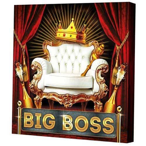Подарочная коробка для тарелки BIG BOSS