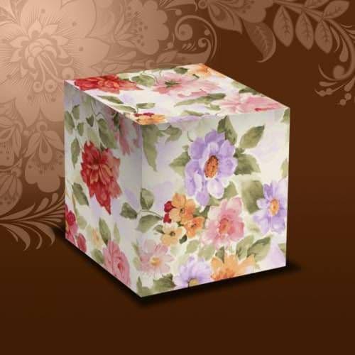 "подарочная коробка для кружки ""акварель"" коробки для кружек"