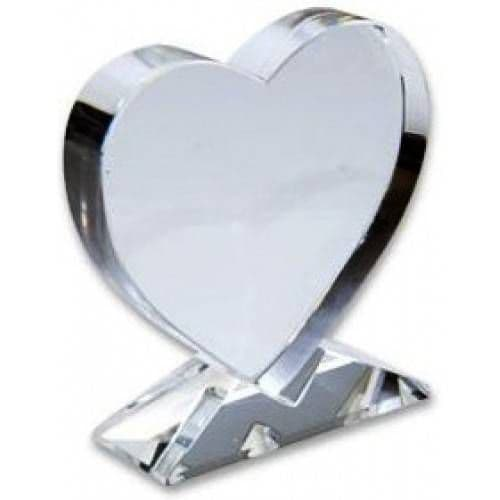 Фотокристалл BXP13 - Сердце 105*110*35мм