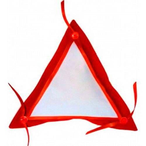 Подушка КРАСНАЯ Госзнак Треугольная с фартуком
