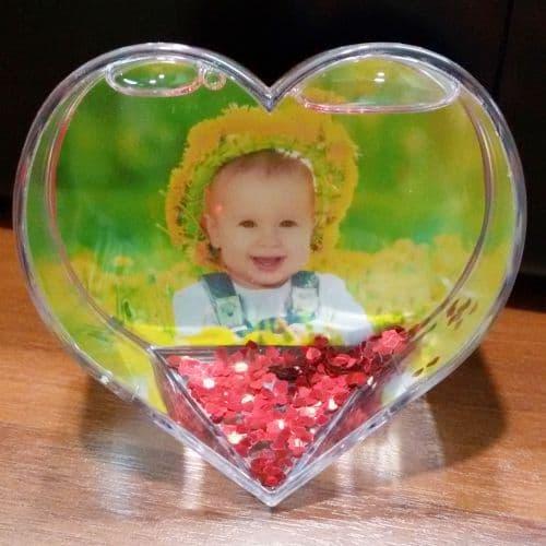 шар водяной в форме сердца подарки на 14 февраля