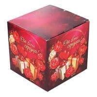"""Подарочная коробка для кружки """"От всего сердца"""""""