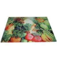 Доска для резки стеклянная прямоугольная 30*39 см
