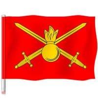 "Флаг ""Сухопутные Войска"" 90х145"
