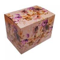 """Подарочная коробка для кружки кофейной  """"Цветы"""""""