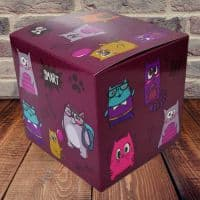"""Коробка для кружки """"Котики"""""""