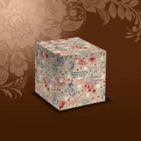 """Подарочная коробка для кружки  """"С НОВЫМ ГОДОМ"""""""
