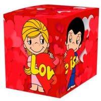 """Подарочная коробка для кружки """"LOVE IS"""""""