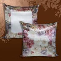 Подушка «Чайная роза», 40*40 см крепсатин
