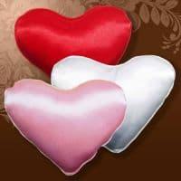 Подушка мини сердце Мери