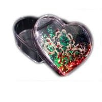 Шкатулка водяная в форме сердца