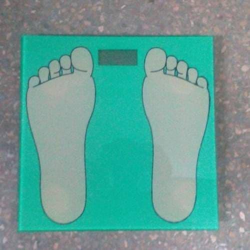 Весы стеклянные квадратные, 28х28 см