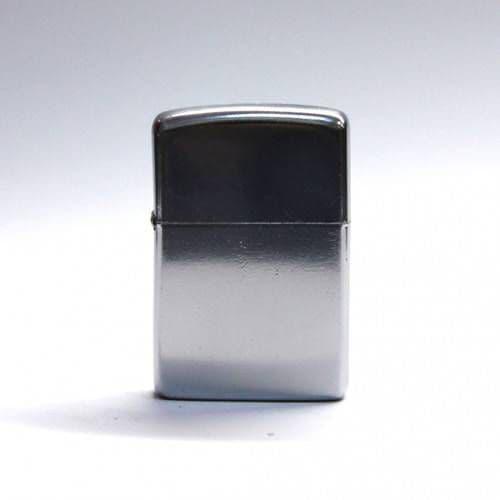Зажигалка металлическая (серебро)