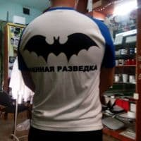 футболка военный разведчик