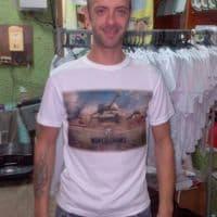 Клиент в футболке World of Tanks