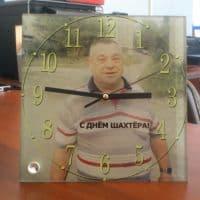 Часы-фоторамка квадратные 20х20 см_1