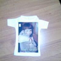 Футболка сувенирная (мини-футболка)_1