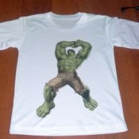 футболка халк