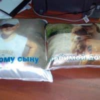 Подушки с фотографией