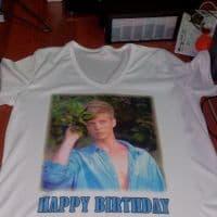 футболка на день рождение