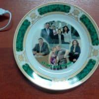 Тарелка на праздник с фото