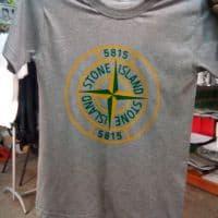 Футболка хб серая Ston Island