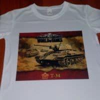 футболка для любителей world of tanks