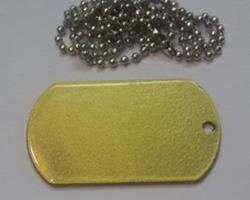 Армейский жетон Золото