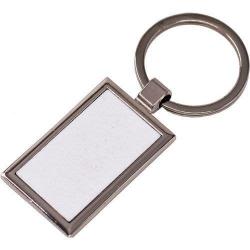 Брелок для ключей прямоугольник металл